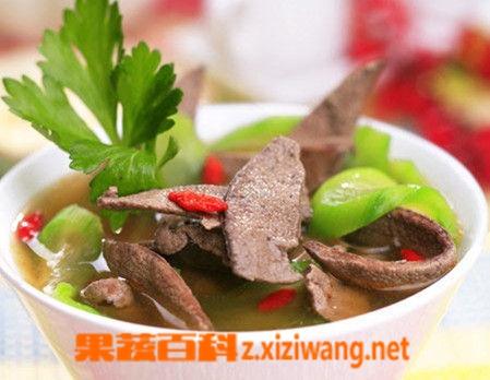 果蔬百科绿豆丝瓜护肝汤