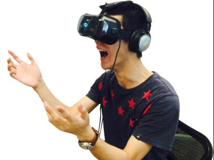 """3Glasses CEO王洁说:""""3Glasses作为国内最早从事VR研发的公司之一,非常重视音频在VR领域的应用,此次与Coolhear将针对VR音效技术进行深入探讨,并将基于双方各自的技术优势,探讨深入合作的可能。"""""""